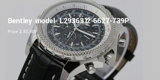 breitling for bentley collection  model  l2936312 6627 739p
