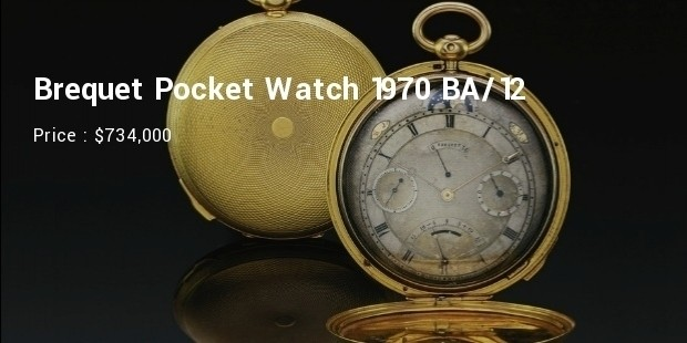 Brequet Pocket Watch 1970 BA/12