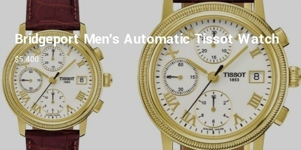 bridgeport mens automatic chronograph