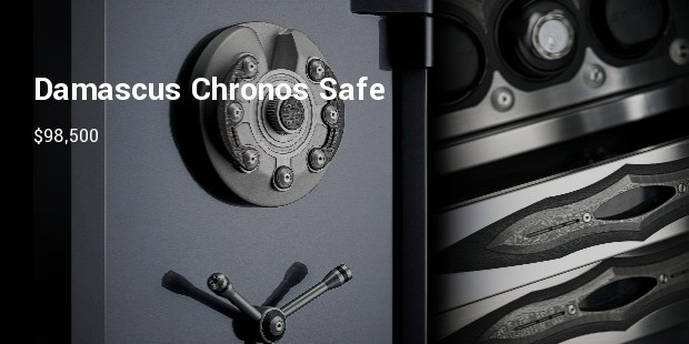 brown safes limited edition damascus chronos safe