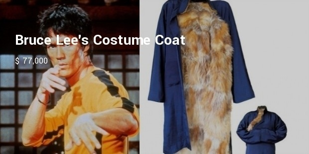 bruce lees costume coat