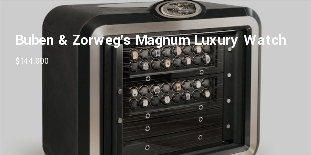 buben   zorwegs magnum luxury watch safe