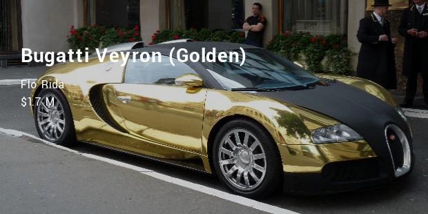 bugatti veyron gold
