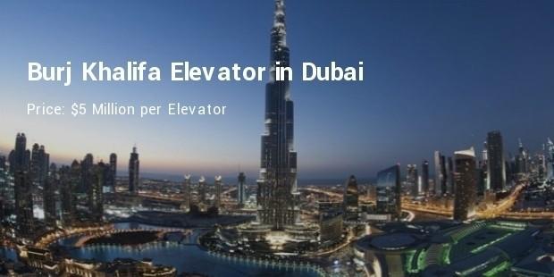 burj khalifa elevator in dubai