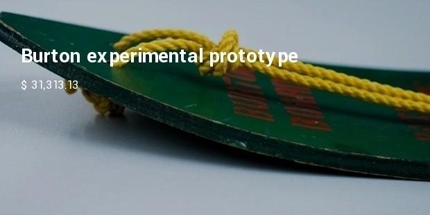 burton experimental prototype