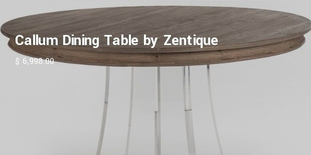 callum dining table by zentique