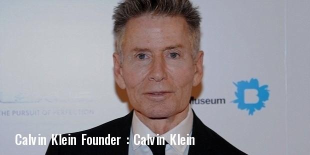 calvin klein founder ck