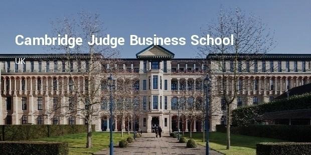 cambridge judge business school  uk