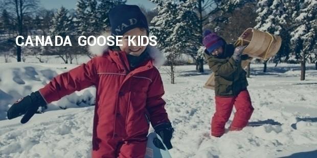 canada goose kids