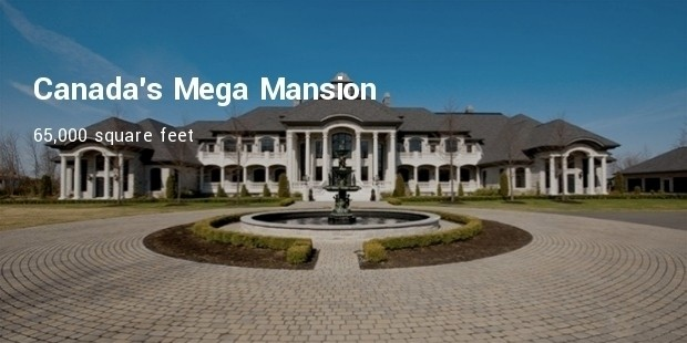 canadas mega mansion
