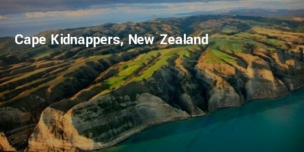 cape kidnappers, new zealand