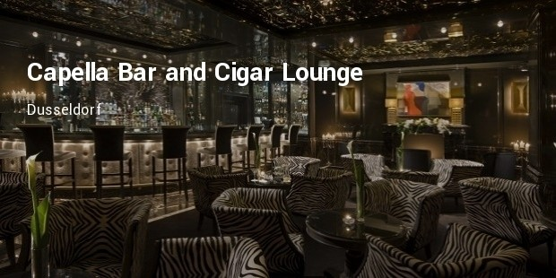 capella bar and cigar lounge   dusseldorf