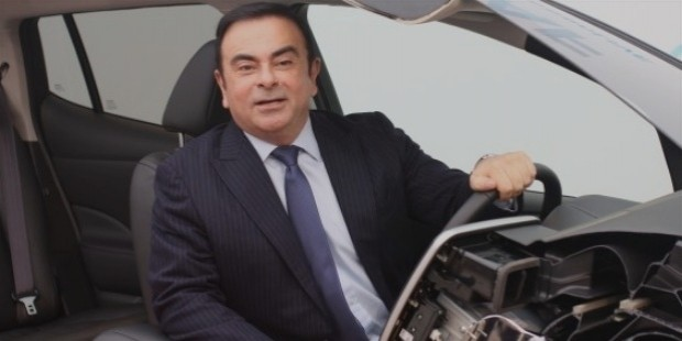 carlos ghosn career trajectory