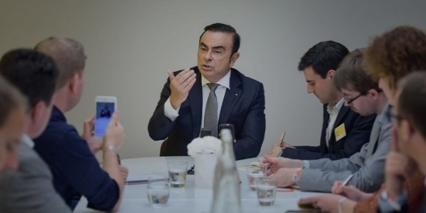 carlos ghosn first job