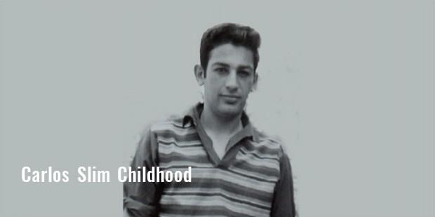 Carlos schlanke Kindheit