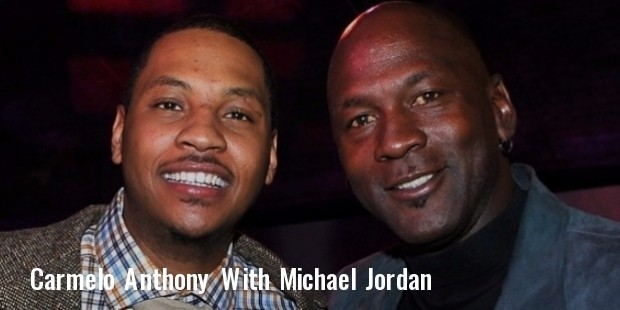 carmelo anthony and michael jordan