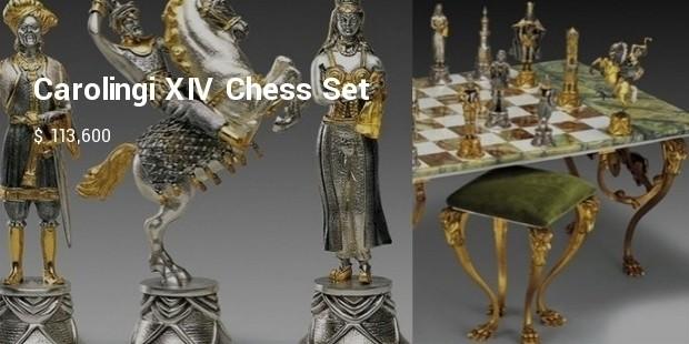 carolingi xiv chess set