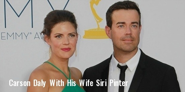 carson daly siri pinter wedding photos instagram