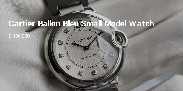 cartier ballon bleu small model watch
