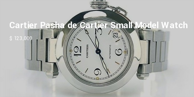 cartier pasha de cartier small model watch