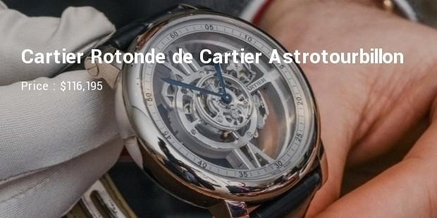 Cartier Rotonde de Cartier Astrotourbillon