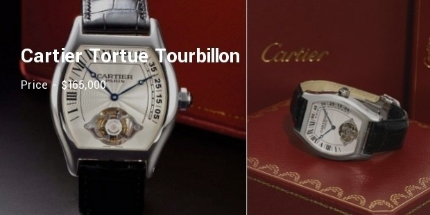 cartier tortue tourbillon ascensionnel platinum watch
