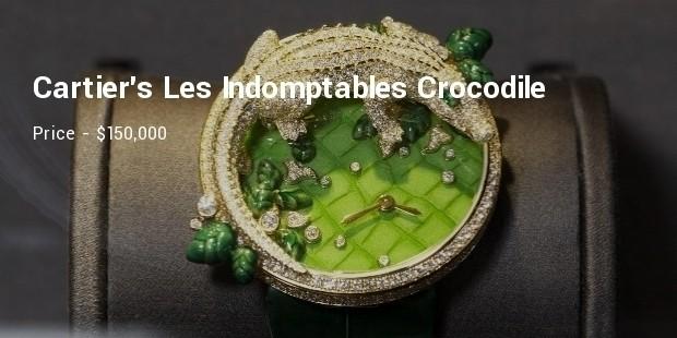 cartiers les indomptables crocodile