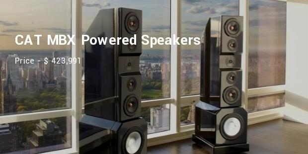cat mbx powered speakers