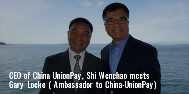 ceo of china union pay