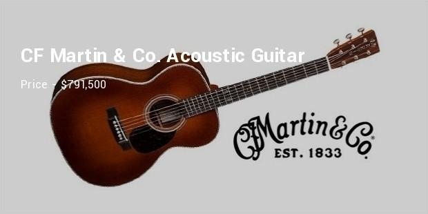 CF Martin Co. Acoustic Guitar