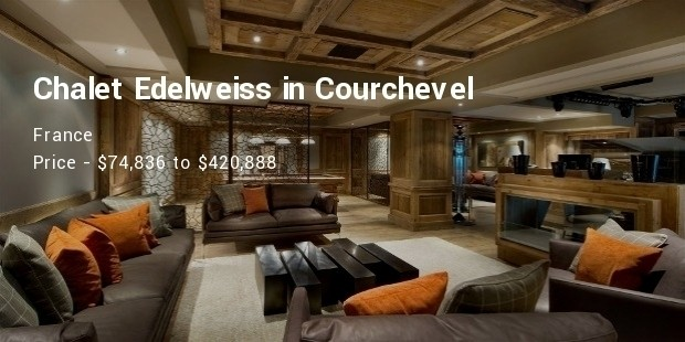 chalet edelweiss in courchevel, france
