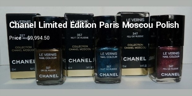 chanel limited edition paris moscoupolish