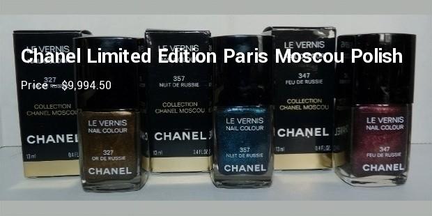 chanel limited edition paris moscoupolish