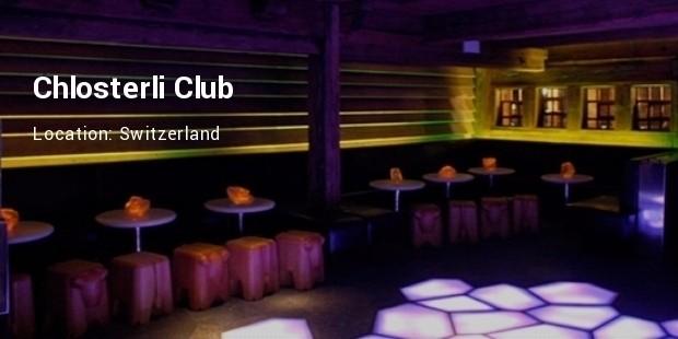chlosterli club switzerland