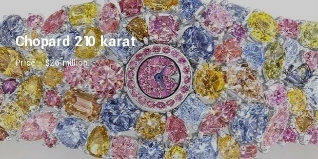 chopard 210 karat