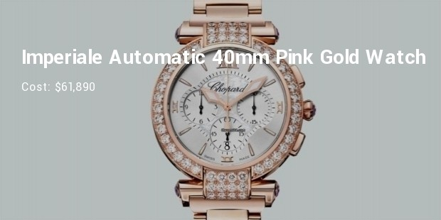 chopard imperiale automatic 40mm pink gold watch