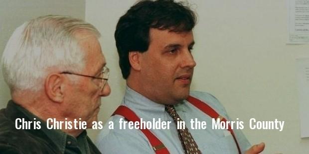 chris christie as freeholder
