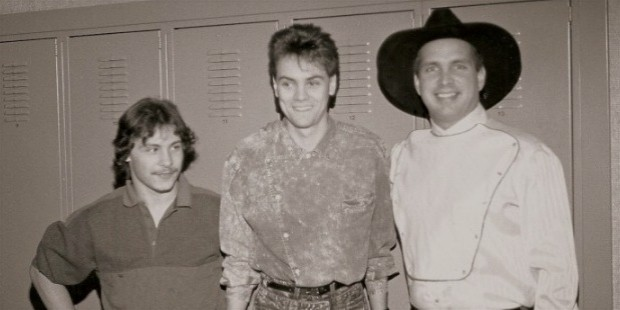 chris elrod brian o neil terry and garth brooks 1990