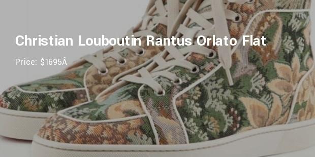 christian louboutin rantus orlato flat   $1695
