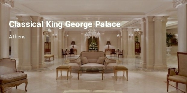 classical king george palace
