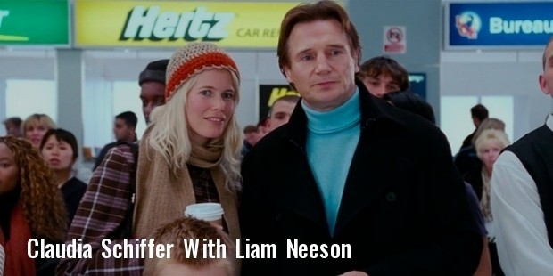 claudia schiffer and liam neeson