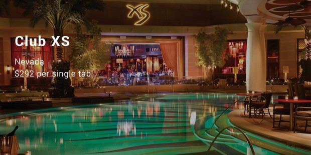 Club XS in Las Vegas in Nevada