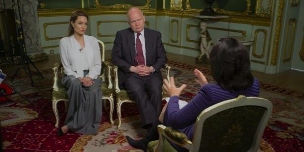 cnn international amanpour angelina jolie