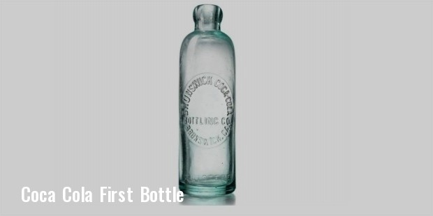 coca cola first bottle
