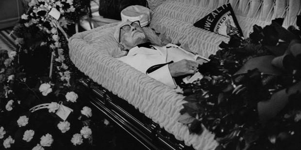 colonel sanders funeral