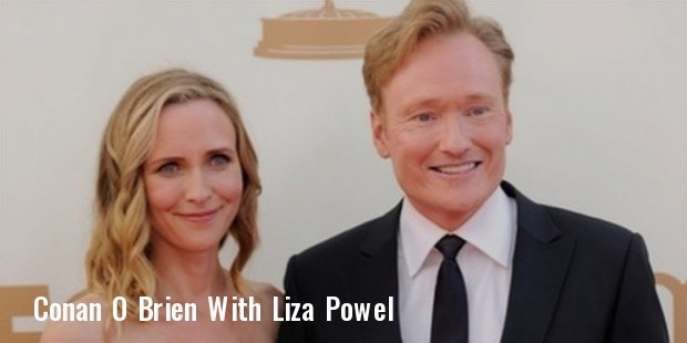 conan o brien and wife liza powel