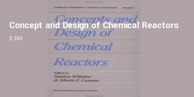 concept and design of chemical reactors