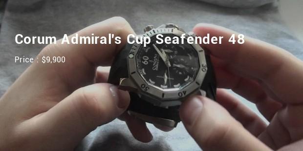 corum admirals cup seafender 48 deep dive