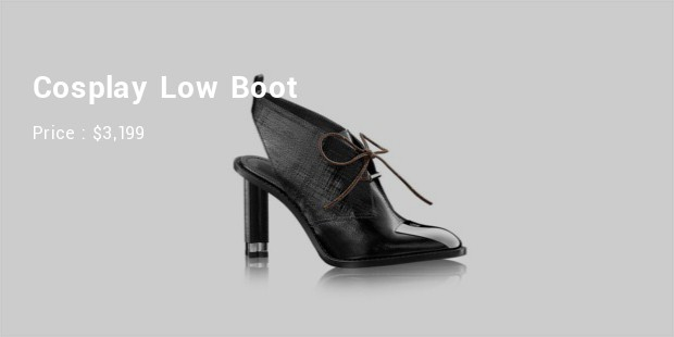 cosplay low boot