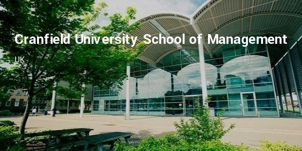 cranfield university school of management uk